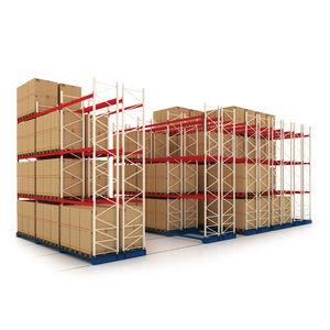 estantería móvil para almacenamiento
