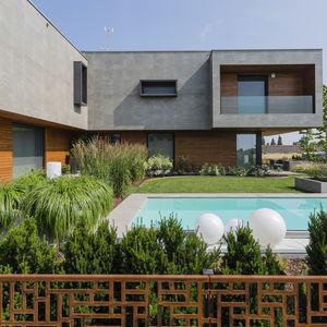 casa prefabricada / modular / temporal / contemporánea