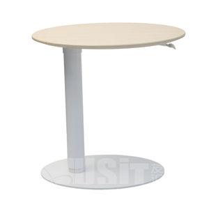 mesa de centro contemporánea / de MDF / de PVC / con base de acero
