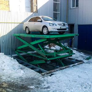 plataforma elevadora para uso industrial