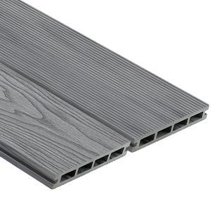 tarimas de exterior de madera compuesta / con clip / sostenibles / reciclables
