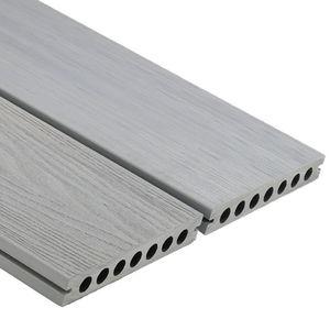 tarimas de exterior de madera compuesta / de material compuesto / de WPC / con clip