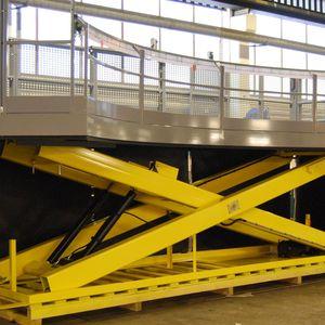 plataforma elevadora de trabajo