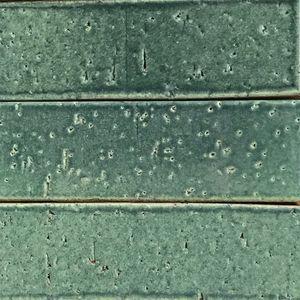 ladrillo con esmalte vítreo