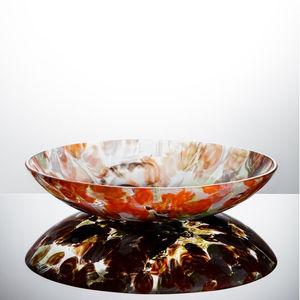 cuenco de cristal de Murano