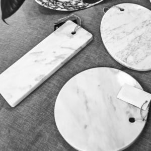 tabla de cortar de mármol de Carrara