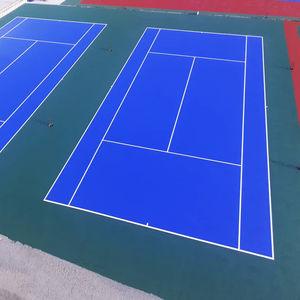 pavimento deportivo de fibra acrílica