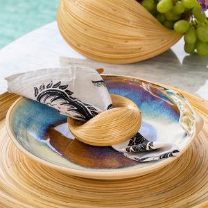 servilletero de bambú