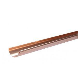 canalón de cobre