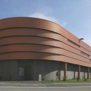 revestimiento de fachada de paneles / en láminas / de acero galvanizado / liso