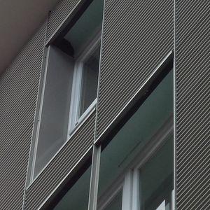 revestimiento de fachada en placas