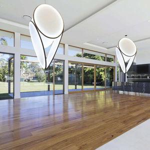 luminaria suspendida / LED / de tela / profesional