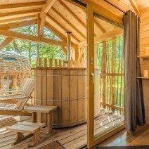 bañera nórdica madera