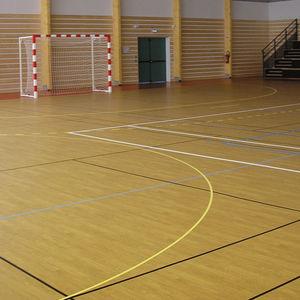 pavimento deportivo de vinilo / de interior / para sala polideportiva
