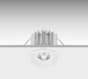 iluminación de emergencia empotrable de techo