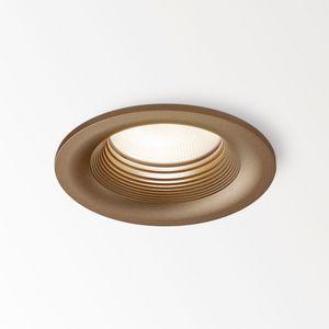 downlight empotrable / LED / redondo / regulable