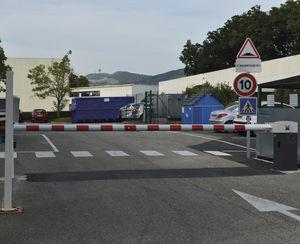 barrera de tráfico