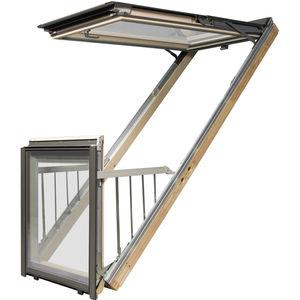 ventana-balcón de proyección