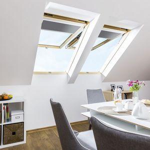 ventana de tejado de pivote