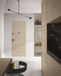 puerta de interior / abatible / corredera / de madera