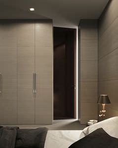 puerta para armario / para vestidor / de interior / abatible