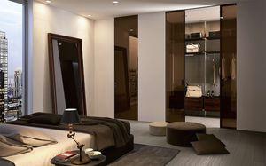 puerta para armario / para vestidor / de interior / corredera