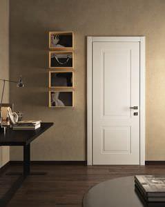 puerta de interior / abatible / de roble / blindada