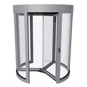 puerta de entrada / enrollable / de vidrio / de seguridad