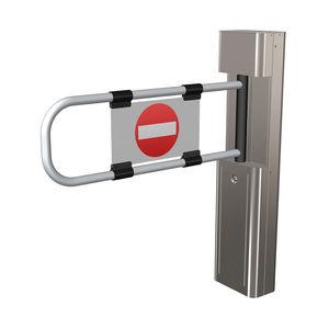 barrera de control de acceso / pivotante / de acero / para edificio público