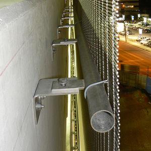 sistema de fijación de metal / para revestimiento de fachada / para exterior
