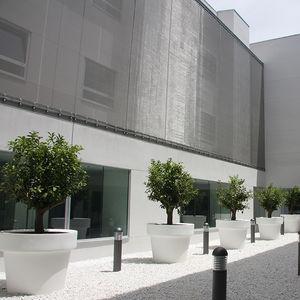 malla metálica para fachada / para muro / para techo / para pantalla solar