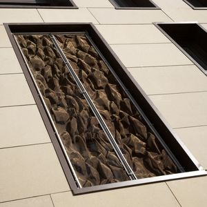 malla metálica para interiores / para techo / para pantalla solar / de acero inoxidable