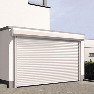 puertas de garaje enrollables / de aluminio / automáticas / aislantes
