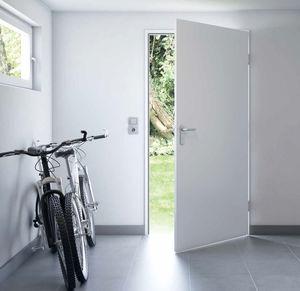 puerta de servicio / abatible / de acero galvanizado / de seguridad