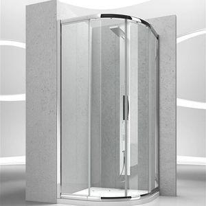 cabina de ducha de vidrio