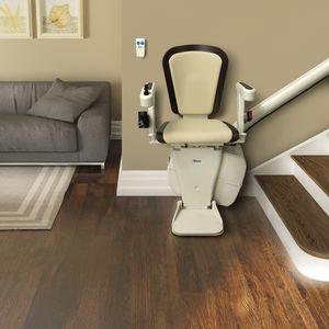 silla salvaescaleras de interior / motorizada / giratoria