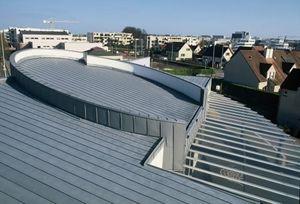 panel estructural de zinc / de cubierta