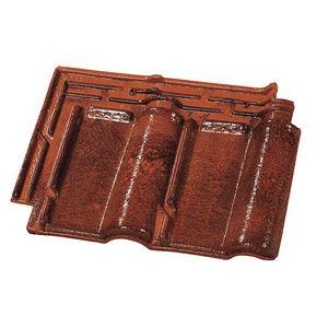teja marsellesa / de arcilla / roja / marrón