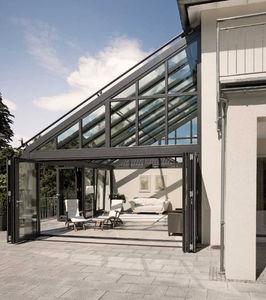 cerramiento de terraza de aluminio
