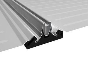 cubierta de aluminio