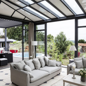 cerramiento de terraza de vidrio