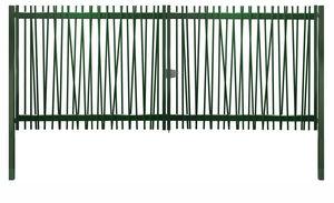 portones abatibles / de acero galvanizado / de barras / para uso residencial
