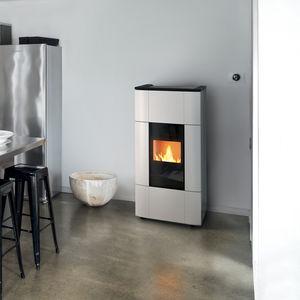 estufa-caldera de pellets