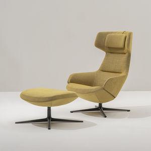 sillón de tejido