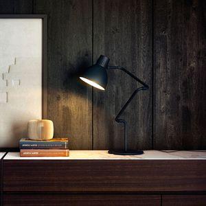 lámpara de mesa / contemporánea / de aluminio / LED