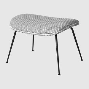 otomana contemporánea / de tejido / tapizada / rectangular