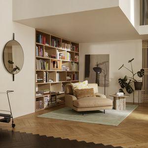 chaise longue de diseño escandinavo