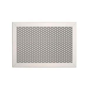 rejilla de ventilación de metal / rectangular / cuadrada