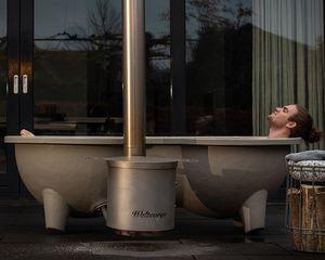 bañera nórdica de fibra de vidrio