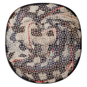 alfombra de diseño original / con motivos / de lana de Nueva Zelanda / tufting